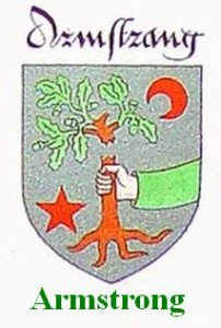 Armstrong crest arms