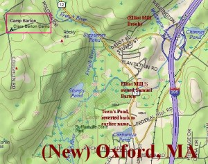 New Oxford map