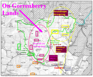 On Gorrenberry Lands