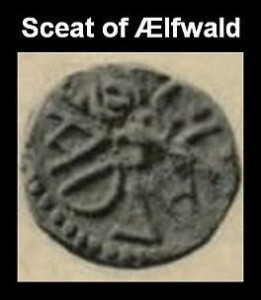 sceat of Elfwald