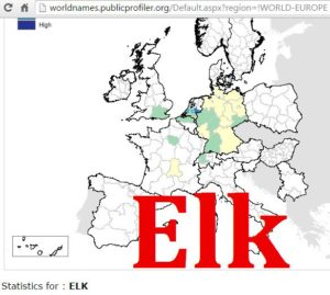 Elk, Elch distribution (1)