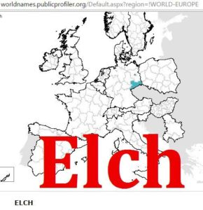 Elk, Elch distribution (2)