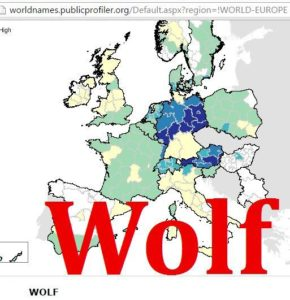 Wolf distribution