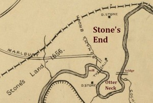 Stone's End Otter Neck map