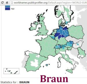 Braun distribution