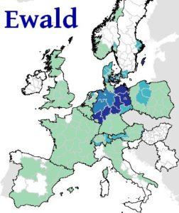 ewald-surname-distribution