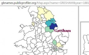 Gresham distribution
