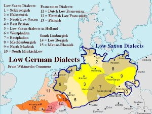 Low German Low Saxon Dialects