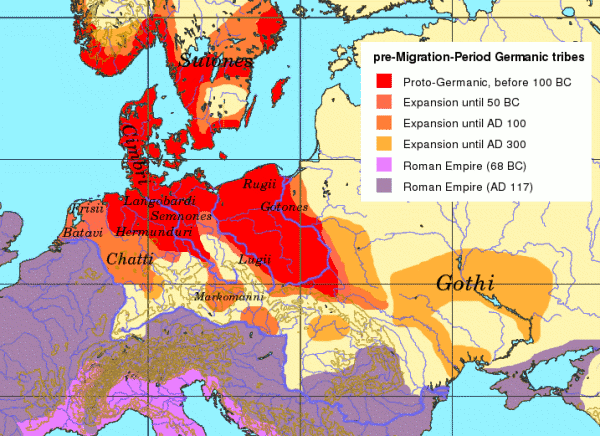 an early history of the danes a germanic tribe History of the germanic peoples including indo-europeans in from an early date germans are established in denmark and southern two german tribes.