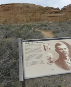 Wetherill Cemetery Chaco Canyon National Historic Park