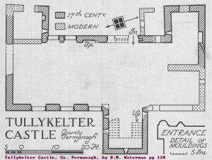 Tullykelter Castle, Co. Fermanagh, by D.M. Waterman pg 128