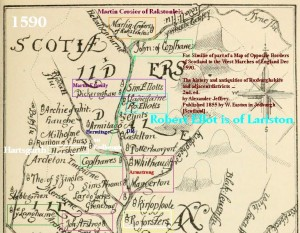 Liddesdale_1590_map