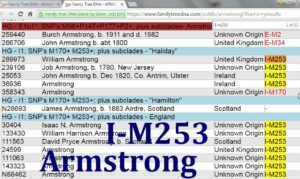 FTDNA Armstrong I-M253