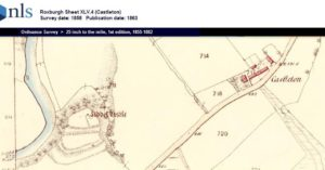 Liddel-Castle-Castleton-map