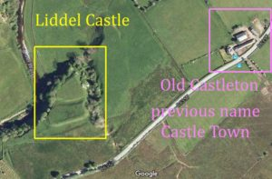 Liddle Caste with Castle Town east