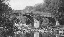 old photo Gilnockie Bridge