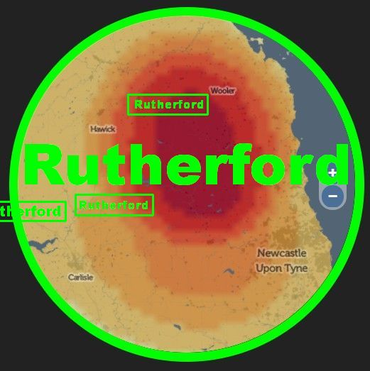 Rutherford surname origins the Scottish Borders  - Gorrenberry